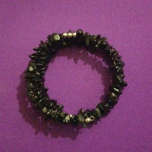 Jewelry - Black bead bracelet